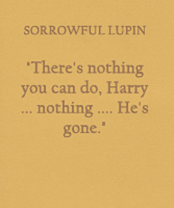 SORROWFUL LUPIN 