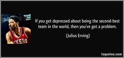 If you get depressed about being the second-best 