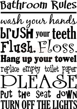 bathroom Roles 