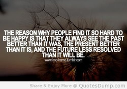 THE REASON WHY PEOPLE FIND IT SO HARD TO 