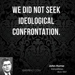 WE DID NOT SEEK 