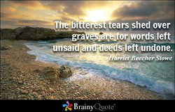 - —The2bl eres tears shed over 