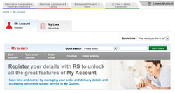 Register your details with RS to unlock 