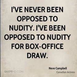 I'VE NEVER BEEN 