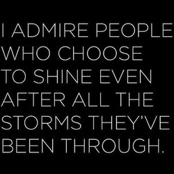 I ADMIRE PEOPLE 