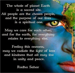 The whole of planet Earth 