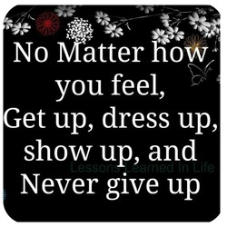 No Måtter how 