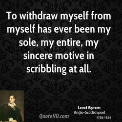 To withdraw myself from 