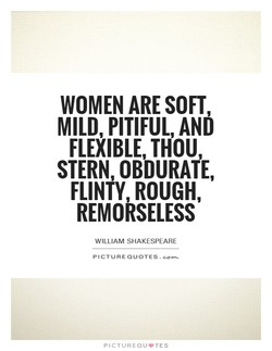 WOMEN ARE SOFT 