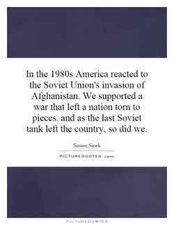 In the 1980s America reacted to 