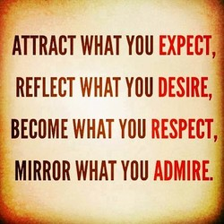 ATTRACT WHAT YOU EXPECT, 