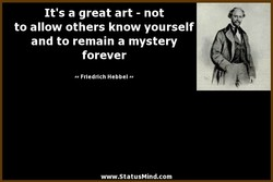 It's a great art - not 