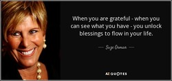 When you are grateful - when you 