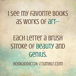 I see my favoriTe BOOKS 
