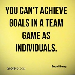 YOU CAN'T ACHIEVE 