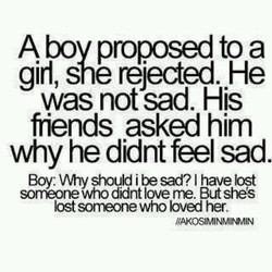 A bov proposed to a 