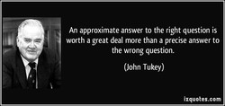 An approximate answer to the right question is 