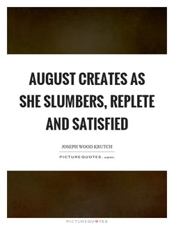 AUGUST CREATES AS 