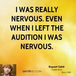 I WAS REALLY 