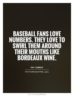 BASEBALL FANS LOVE 