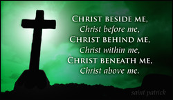 CHRIST BESIDE ME, 