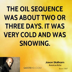 THE OIL SEQUENCE 