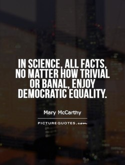 IN SCIENCE ALL FACTS 