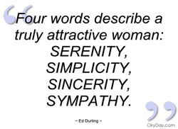 our words describe a 