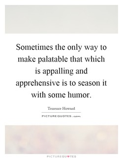 Sometimes the only way to 