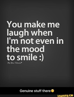 You make me 
