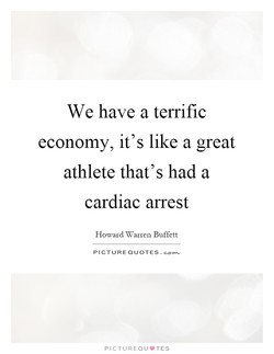 We have a terrific 