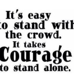 be a leader not a follower