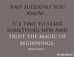 AND SUDDENLY YOU 