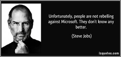 Unfortunately, people are not rebelling 