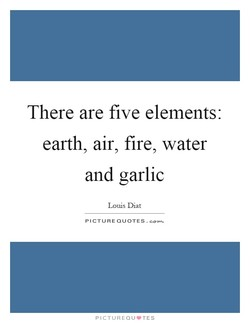 There are five elements: 