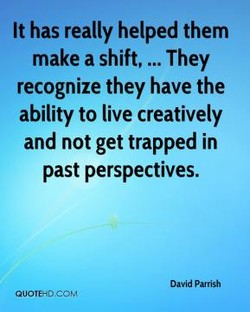 It has really helped them 