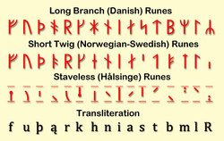 Long Branch (Danish) Runes 