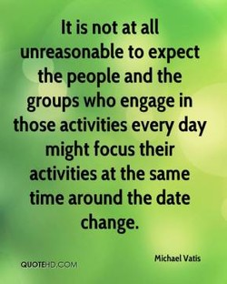 It is not at all 