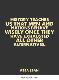 HISTORY TEACHES 