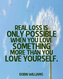 REAL LOSS IS 