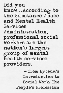 Did you 