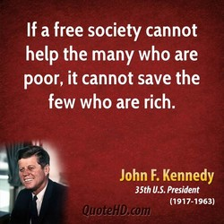 If a free society cannot 