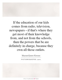 Ifthe education of our kids 