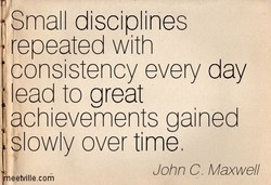 Small disciplines 