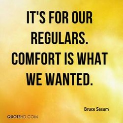 IT'S FOR OUR 