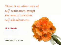 There is no other way of 