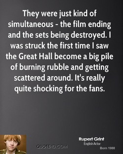 They were just kind of 