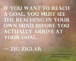 IF YOU WANT TO REACH 