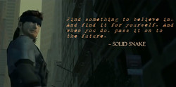 Find something to believe in. 