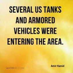 SEVERAL US TANKS 